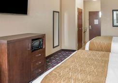 凯富套房酒店 - 圣马科斯 - 睡房