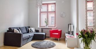 Go 欢乐之家公寓卢恩贝金街 6 号酒店 - 赫尔辛基 - 客厅