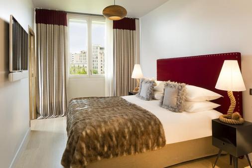 巴黎巴士底哥霍斯卡住宅酒店 - 巴黎 - 睡房