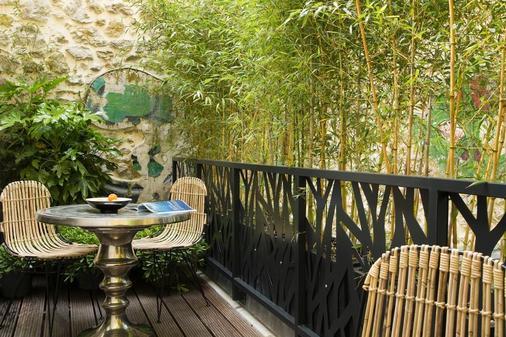 巴黎巴士底哥霍斯卡住宅酒店 - 巴黎 - 阳台