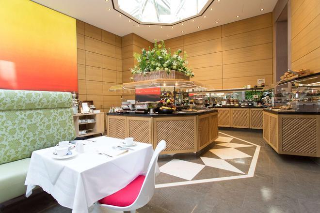 德美第奇德拉格生活酒店 - 杜塞尔多夫 - 自助餐