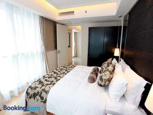 凯铂·精品酒店 - 南京 - 睡房