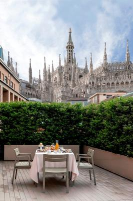 星际罗莎大酒店 - 米兰 - 阳台