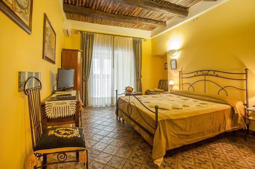 拉洛戈吉欧戴瓦萨里家庭旅馆 - 那不勒斯 - 睡房