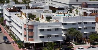 梦南海滩酒店 - 迈阿密海滩 - 户外景观