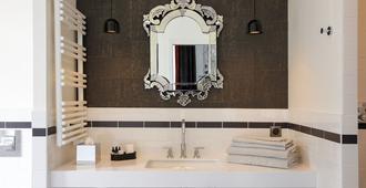 大陆 - 兰斯酒店 - 兰斯 - 浴室