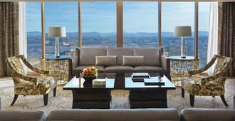 拉斯维加斯四季酒店 - 拉斯维加斯 - 客厅
