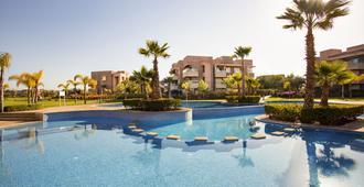 Darkech Prestigia Luxury Apartment in Marrakech - 马拉喀什 - 游泳池
