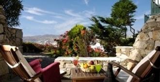 萨罗米科诺斯精品酒店 - 米科諾斯岛 - 露台