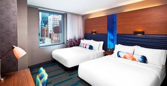 雅乐轩曼哈顿市区 - 金融区酒店 - 纽约 - 睡房