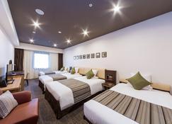金泽mystays酒店 - 金泽市 - 睡房