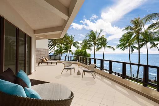 香格里拉丹绒亚路度假酒店及水疗中心 - 亚庇 - 阳台
