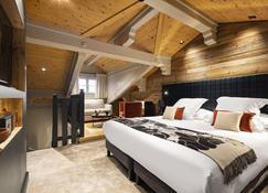 勒查比措酒店 - 谷雪维尔 - 睡房