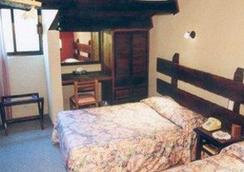 雷阿尔城历史中心酒店 - 圣克里斯托瓦尔-德拉斯卡萨斯 - 睡房