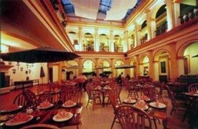 雷阿尔城历史中心酒店 - 圣克里斯托瓦尔-德拉斯卡萨斯 - 餐馆