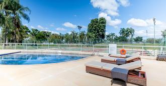金色郁金香巴西利亚阿尔沃拉达酒店 - 巴西利亚 - 游泳池