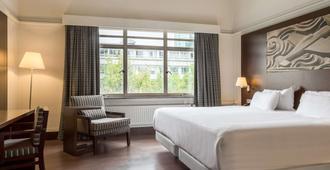 鹿特丹亚特兰大nh酒店 - 鹿特丹 - 睡房