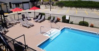 湖景汽车旅馆及套房 - 奥索尤斯 - 游泳池