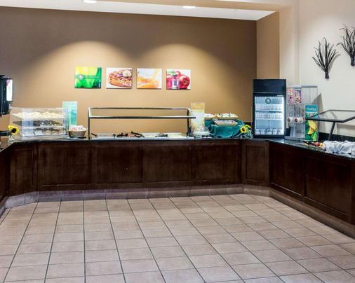 诺福克机场莱特湖质量套房酒店 - 诺福克 - 自助餐
