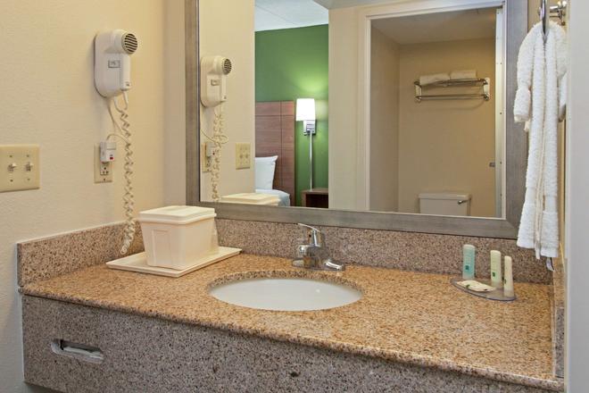 凯艺套房酒店-赖特湖诺福克机场 - 诺福克 - 浴室