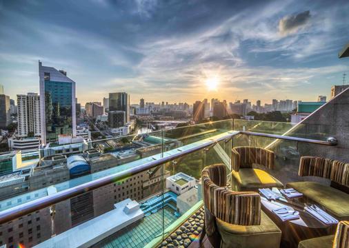 半岛怡东酒店 - 新加坡 - 阳台