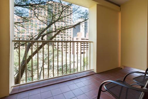 圣安东尼奥河滨德鲁利套房酒店 - 圣安东尼奥 - 阳台