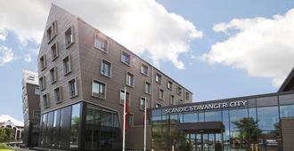 斯堪迪克斯塔万格市酒店 - 斯塔万格 - 建筑