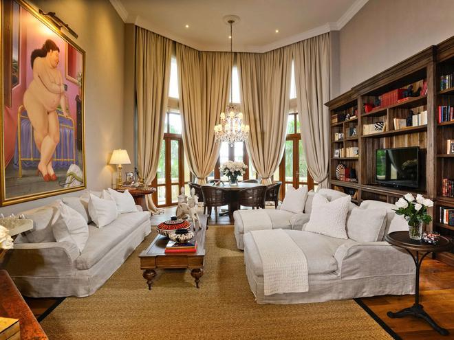 卡塔根那圣克拉拉索菲特传奇酒店 - 卡塔赫纳 - 休息厅