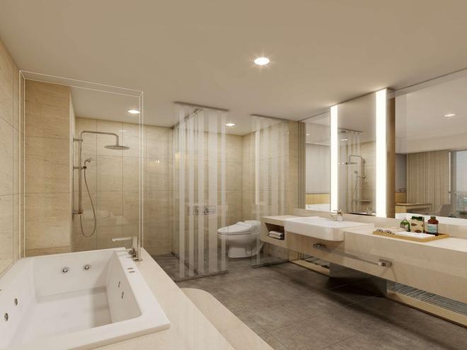 金色郁金香仁川机场酒店&套房 - 仁川 - 浴室