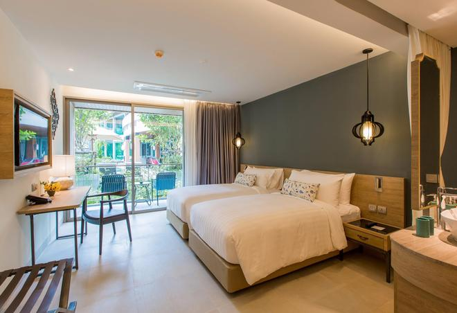 芭东山迈之家酒店 - 芭东 - 睡房