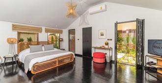 达灵岩日落海滩温泉度假酒店 - 苏梅岛 - 睡房