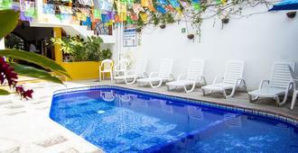 瓦拉塔中心哈齐恩达酒店 - 巴亚尔塔港 - 游泳池