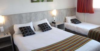 英国精品酒店 - 卡尔卡松 - 睡房