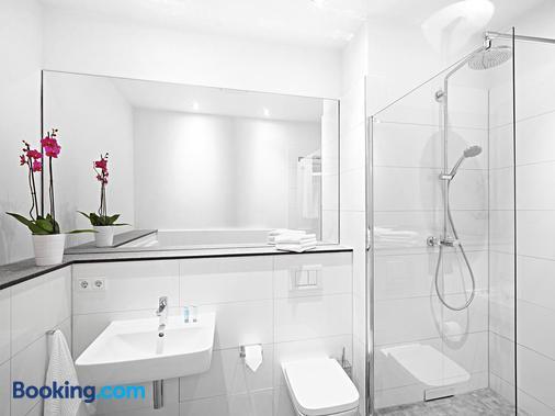 红色公寓酒店 - 杜塞尔多夫 - 浴室