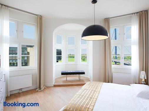 红色公寓酒店 - 杜塞尔多夫 - 睡房