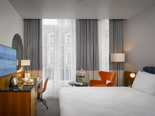 乔治K+K酒店 - 伦敦 - 睡房