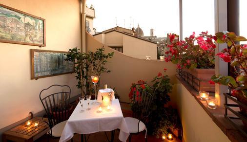 德拉佩斯酒店 - 佛罗伦萨 - 阳台