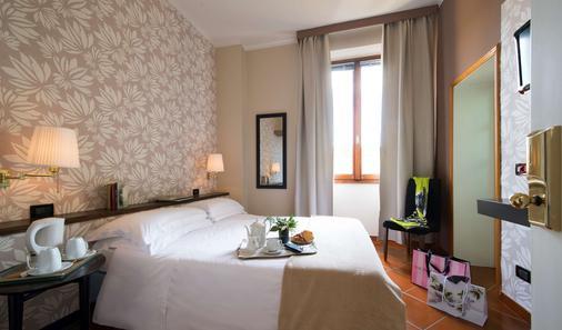 德拉佩斯酒店 - 佛罗伦萨 - 睡房