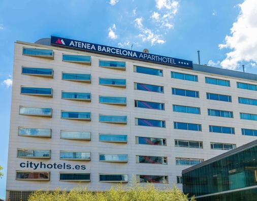 雅典娜公寓式酒店 - 巴塞罗那 - 建筑