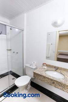 萨沃伊快捷酒店 - 阿雷格里港 - 浴室