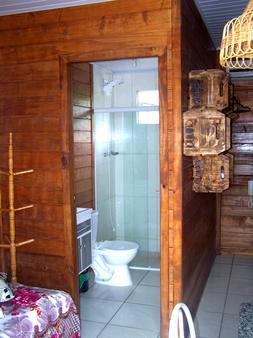 两恋人木屋旅馆 - Penha - 浴室
