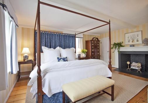联合街酒店 - 楠塔基特 - 睡房