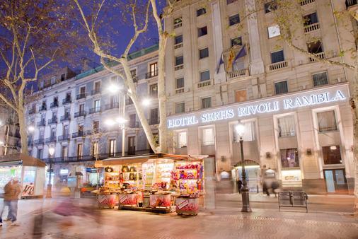 巴塞罗那兰布拉里沃利酒店 - 巴塞罗那 - 建筑