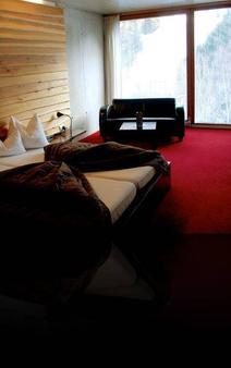 阿尔卑斯山豪华酒店 - Sankt Anton am Arlberg - 睡房