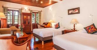 湄公河景观酒店 - 琅勃拉邦 - 睡房