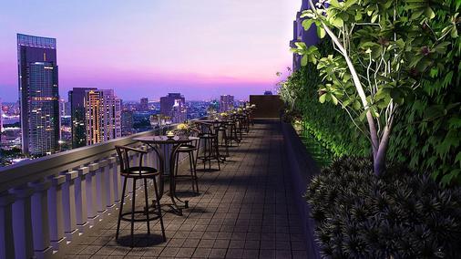 曼谷兰开斯特酒店 - 曼谷 - 阳台