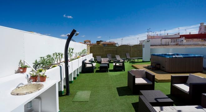 水井酒店 - 托雷莫利诺斯 - 露天屋顶