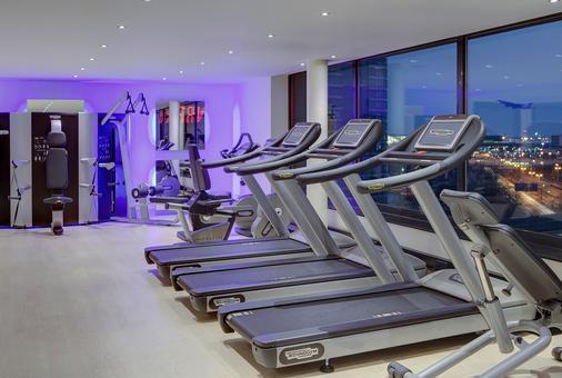 施泰根贝格尔机场酒店 - 法兰克福 - 健身房