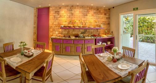 普萨达托卡达普拉亚酒店 - Maresias - 餐厅