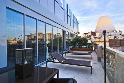 巴塞罗纳埃克斯酒店&都市温泉 - 巴塞罗那 - 阳台